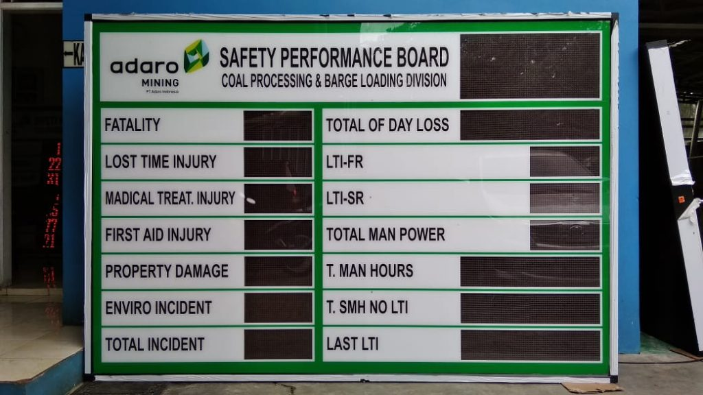 Jual Display HSE di Bandung yang Sangat Terjangkau