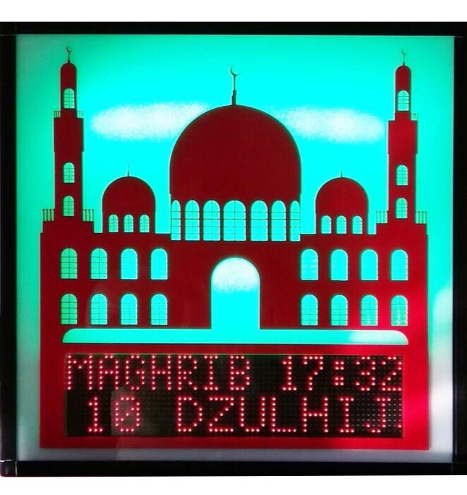 Jual Jadwal Sholat Digital Masjid di Banten yang Multifungsi